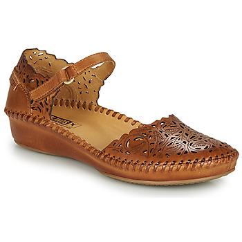 Chaussures Femme Ballerines / babies Pikolinos P. VALLARTA 655 Cognac