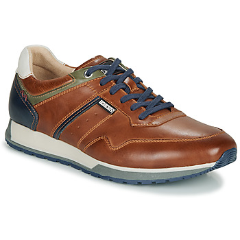 Chaussures Homme Baskets basses Pikolinos CAMBIL M5N Marron / Marine