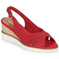Chaussures Femme Sandales et Nu-pieds Tamaris  Rouge