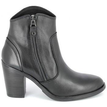 Porronet Femme Bottines  Boots Acap Noir