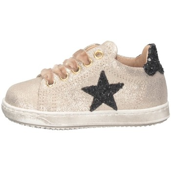 Chaussures Fille Baskets basses Gioiecologiche 4026 sable