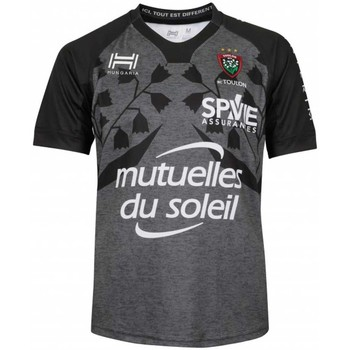 Vêtements Homme T-shirts & Polos Hungaria Maillot Rugby Club Toulonnais Gris