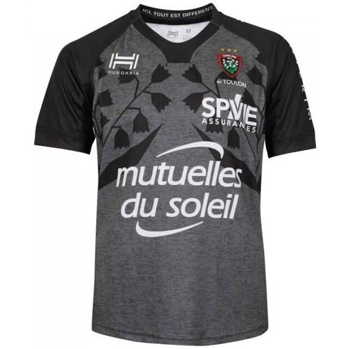 Vêtements Homme T-shirts & Polos Hungaria Maillot Rugby Club Toulonnais Gris