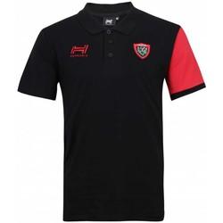 Vêtements Homme T-shirts & Polos Hungaria Polo Rugby Club Toulonnais 201 Noir