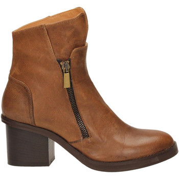 Chaussures Femme Bottines Salvador Ribes TULIA 10 cacao