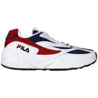 Chaussures Femme Baskets basses Fila V94M Low Blanc, Rouge