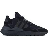 Chaussures Enfant Baskets basses adidas Originals Nite Jogger J Noir