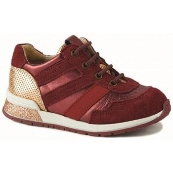 Chaussures Fille Baskets basses Catimini Basket cameline rouge