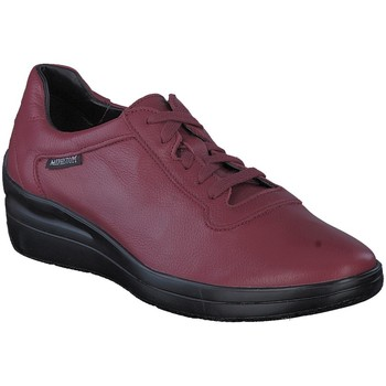 Chaussures Baskets basses Mephisto Chaussure velours CHRIS Rouge