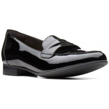 Chaussures Femme Mocassins Clarks Mocassin un blush go Noir