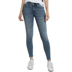 Vêtements Femme Jeans skinny Lois Jean denim Blue-Lue Ankle High 960 Bleu