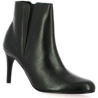 Chaussures Femme Bottines Elizabeth Stuart Boots cuir Noir