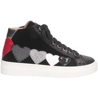 Chaussures Fille Baskets montantes Romagnoli 4702-801 Noir
