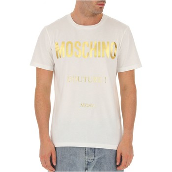 Vêtements Homme T-shirts manches courtes Love Moschino ZJ0707 Blanc
