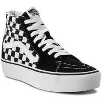 Chaussures Homme Baskets montantes Vans sk8-hi platform 2.0 Noir