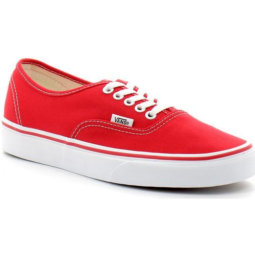 Vans authentic Rouge - Chaussures Baskets basses 65,00 €
