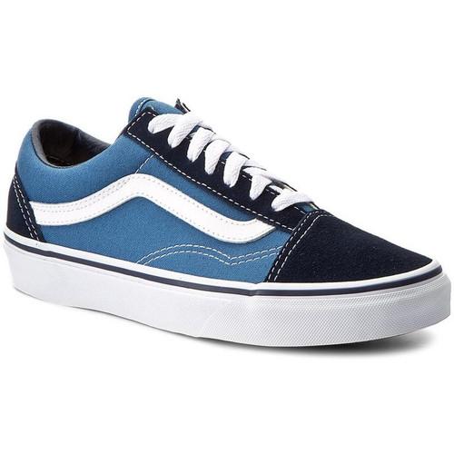 Vans chaussures old skool Bleu - Chaussures Baskets basses 75,00 €