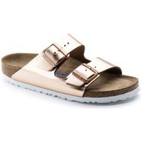 Chaussures Femme Mules Birkenstock - ARIZONA Doré