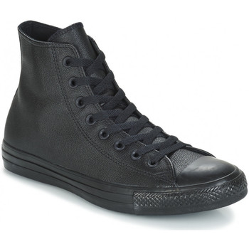 Chaussures Baskets montantes Converse - CHUCK TAYLOR ALL STAR LEATHER Noir