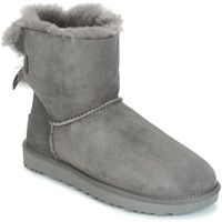Chaussures Femme Bottes de neige UGG mini bailey bow Grey