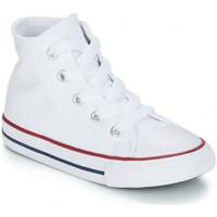 Chaussures Enfant Baskets montantes Converse chuck taylor bébé Blanc-optic