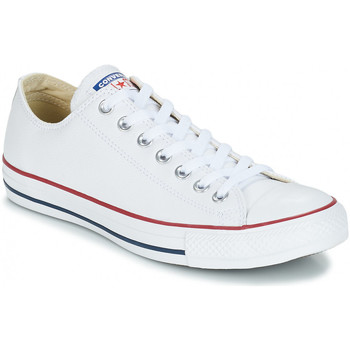 Chaussures Baskets basses Converse chuck taylor all star leather Blanc