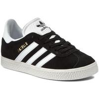 Chaussures Enfant Baskets basses adidas Originals chaussure gazelle Noir