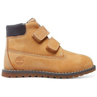 Chaussures Enfant Boots Timberland pokey pine hook-et-loop petit enfant Marron
