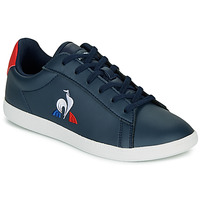 Chaussures Enfant Baskets basses Le Coq Sportif COURTSET GS Marine / Rouge