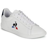 Chaussures Enfant Baskets basses Le Coq Sportif COURTSET GS Blanc