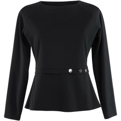 Vêtements Femme Tops / Blouses Lisca Haut manches longues Estelle  noir Noir