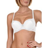 Sous-vêtements Femme Emboitants Lisca Soutien-gorge préformé Evelyn  - Bonnets B à E Blanc
