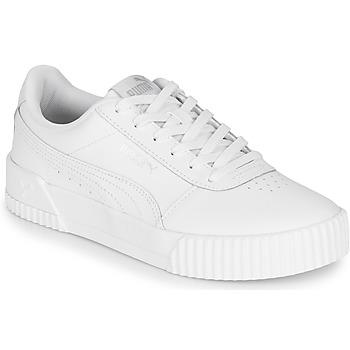 Chaussures Femme Baskets basses Puma CARINA Blanc