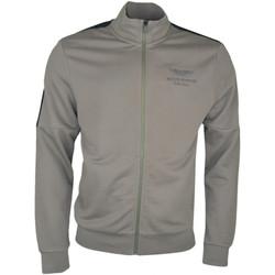 Vêtements Homme Vestes de survêtement Hackett Veste sweat zippée  Aston Martin vert kaki pour homme Vert