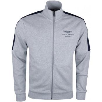 Vêtements Homme Vestes de survêtement Hackett Veste sweat zippée  Aston Martin grise pour homme Gris