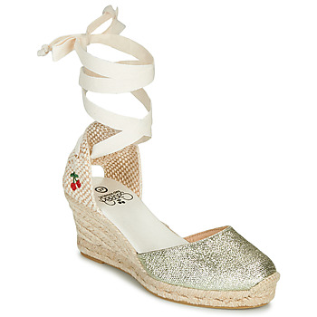 Chaussures Femme Sandales et Nu-pieds Le Temps des Cerises POLY Doré