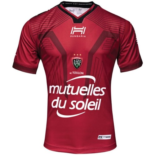 Vêtements Homme T-shirts & Polos Hungaria Maillot  Rugby Club Toulonnais Rouge