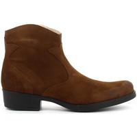Chaussures Fille Bottines Acebo's 9779 cuero Marron