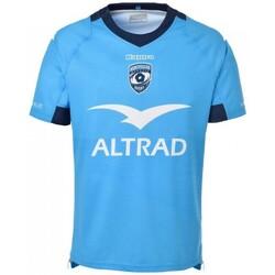 Vêtements T-shirts & Polos Kappa Maillot rugby Montpellier Héra Bleu