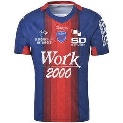 Vêtements T-shirts & Polos Kappa Maillot rugby FC Grenoble Rugb Rouge