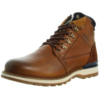 Chaussures Homme Boots Redskins Boots  Bardane cuir ref_46905 Cognac marron