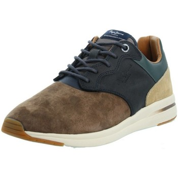 Chaussures Homme Baskets basses Pepe jeans Sneakers  ref_47204 884 STAG marron