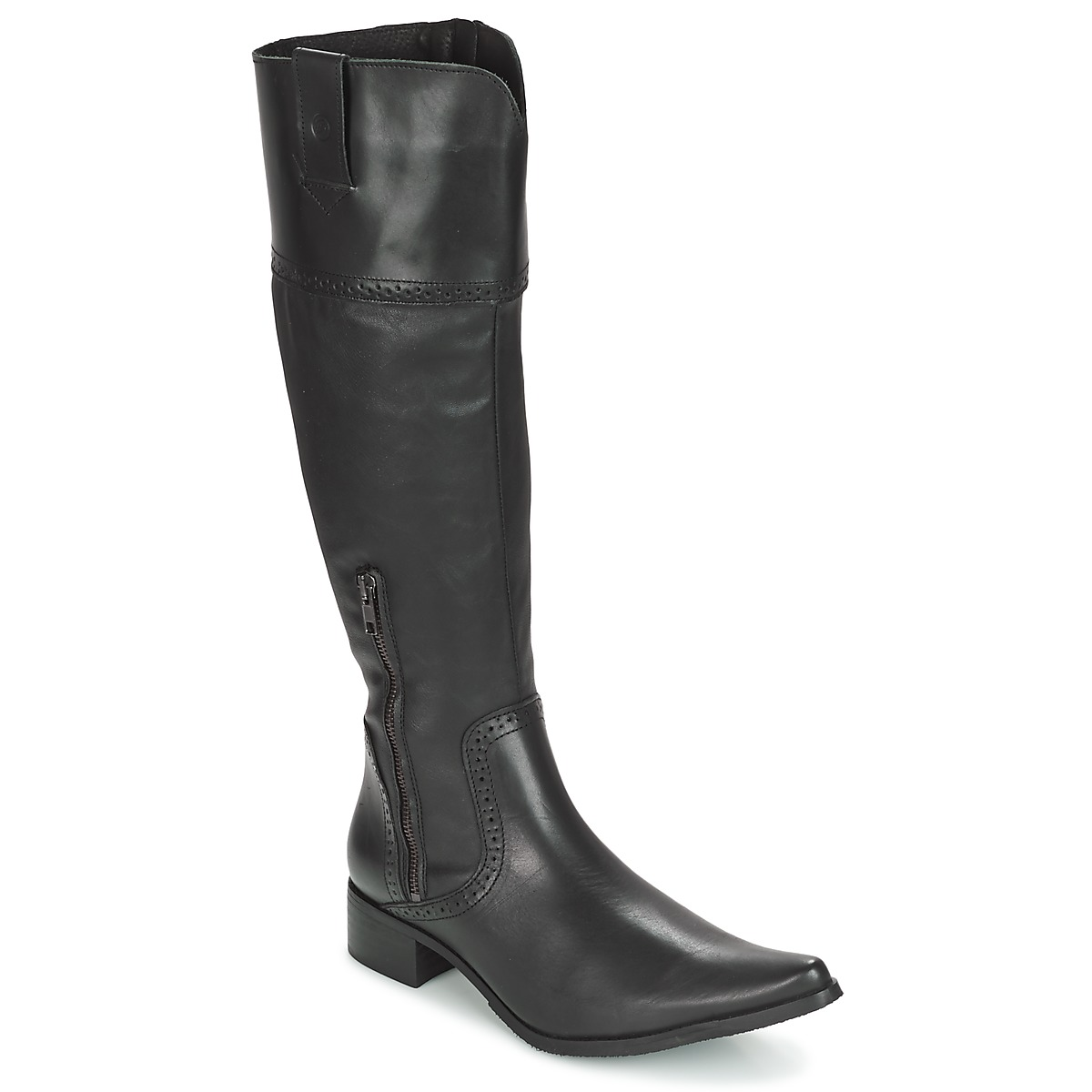 Botte ville Betty London RIOKA Noir