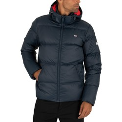 Vêtements Homme Doudounes Tommy Jeans Essential Down Puffer Jacket bleu