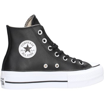 Chaussures Femme Boots Converse - Ct as lift clean hi nero 561675C NERO