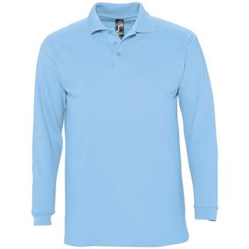 Vêtements Homme Polos manches longues Sols WINTER 2 CASUAL MEN Azul