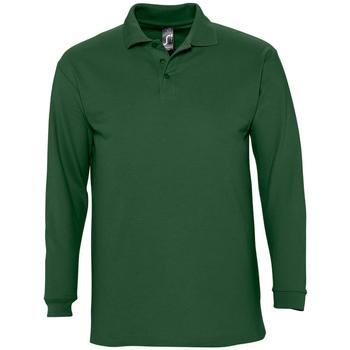 Vêtements Homme Polos manches longues Sols WINTER 2 CASUAL MEN Verde