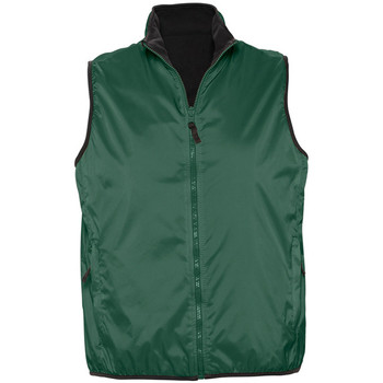 Vêtements Gilets / Cardigans Sols WINNER UNISEX REVERSIBLE Verde
