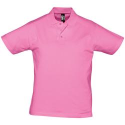 Vêtements Homme Polos manches courtes Sols PRESCOTT CASUAL DAY Rosa