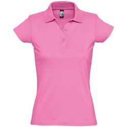 Vêtements Femme Polos manches courtes Sols PRESCOTT CASUAL DAY Rosa